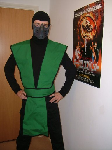 Reptile mortal kombat costume - photo#8